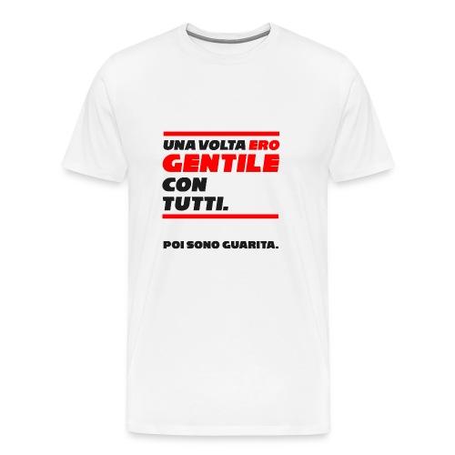 COVER UNA VOLTA ERO GENTILE CON TUTTI. - Maglietta Premium da uomo
