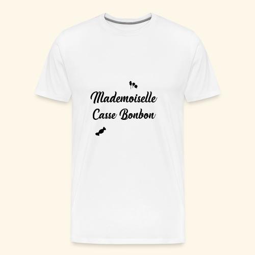 Mademoiselle Casse bonbon - T-shirt Premium Homme