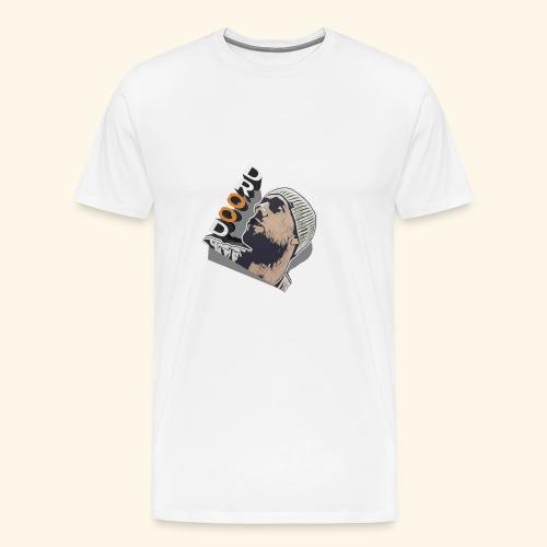 DroodlocksTV Face 3D - Männer Premium T-Shirt