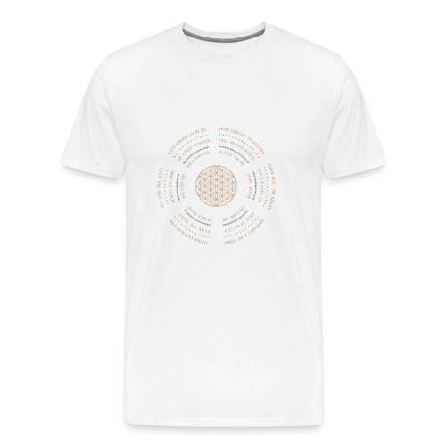Mandala 25 - Männer Premium T-Shirt