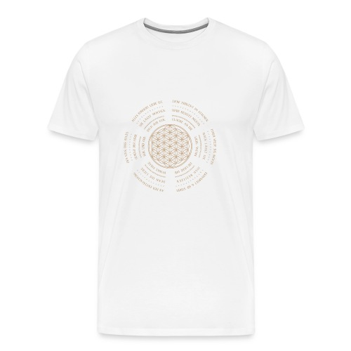 Mandala 24 - Männer Premium T-Shirt