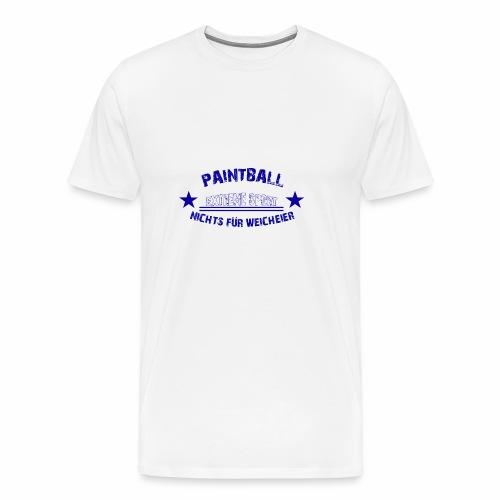 Paintball Anfänger Extreme Sport Geschenk - Männer Premium T-Shirt
