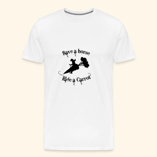 Horse carrot - T-shirt Premium Homme
