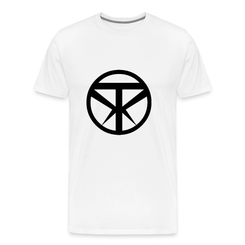 Tridex Logo Black - Men's Premium T-Shirt