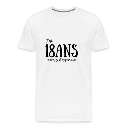 18ans - T-shirt Premium Homme