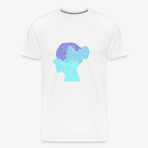 Girl Face - Männer Premium T-Shirt