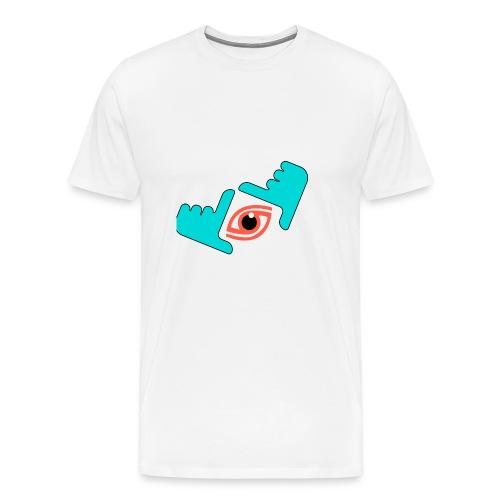 Ich habe dich im Auge - Männer Premium T-Shirt
