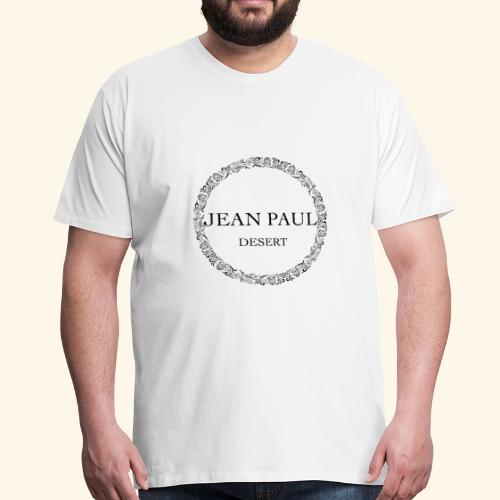 Logo - Jean Paul Desert - Men's Premium T-Shirt