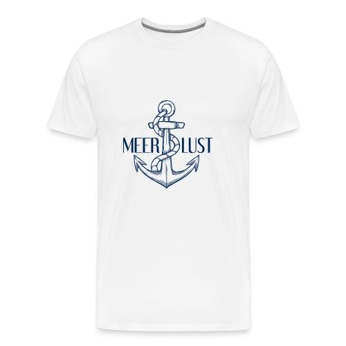 Meerlust Anker - Männer Premium T-Shirt