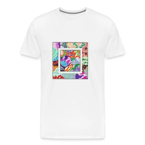 Moon The Lagoon Raccoon cover - Mannen Premium T-shirt