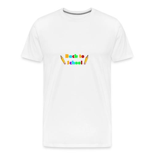 schulbeginn - Männer Premium T-Shirt