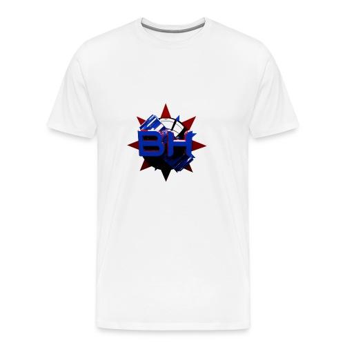LOGO DESIGN - BLACKHOLEGAMING - Maglietta Premium da uomo