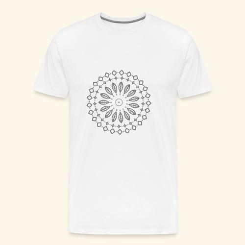 Mandala, Glück, Harmonie - Männer Premium T-Shirt