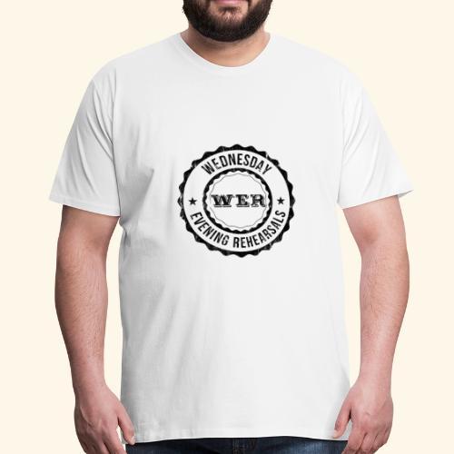 WER OFFICIAL BLACK - T-shirt Premium Homme
