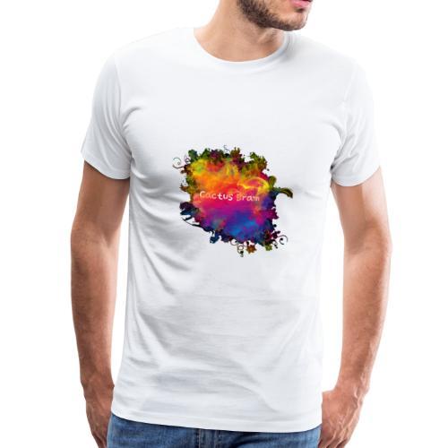 Logo coloré by Cactus Bram - T-shirt Premium Homme