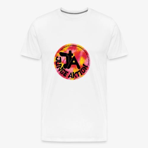 LLENA orange schwarz - Männer Premium T-Shirt