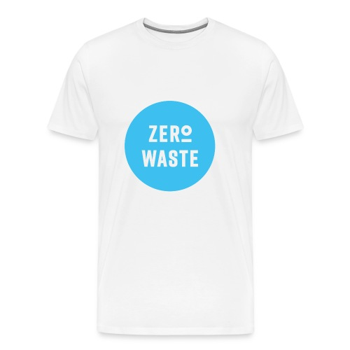 ZERO WASTE - blue - Men's Premium T-Shirt