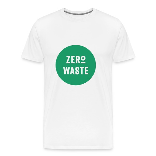 ZERO WASTE - Green - Men's Premium T-Shirt