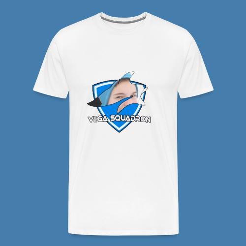 Veega Full Chest Logo - Premium T-skjorte for menn