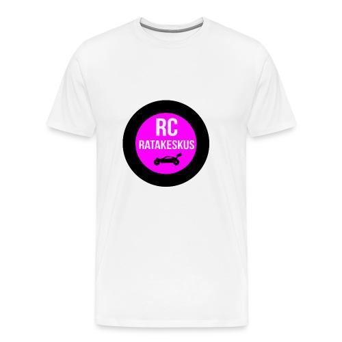 rc-ratakeskus puhelimen kotelo - Miesten premium t-paita