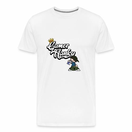 GamerHanky Logo (ohne Drachen) - Männer Premium T-Shirt