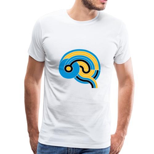 The Brain - Allez Les Bleus - Männer Premium T-Shirt
