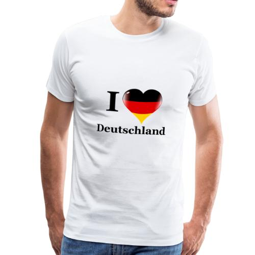 I love Deutschland - Men's Premium T-Shirt