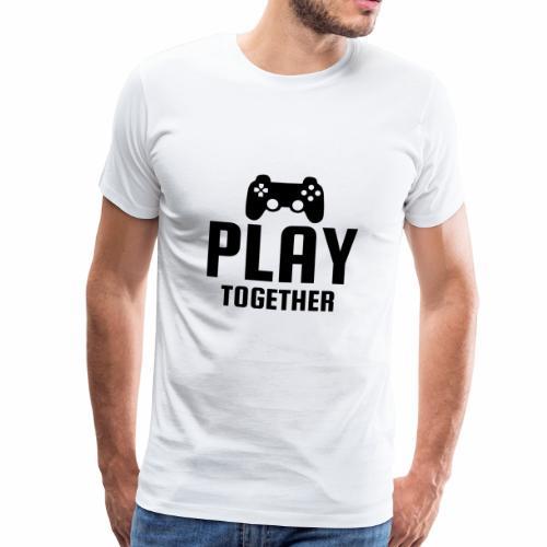 play togehter - Männer Premium T-Shirt