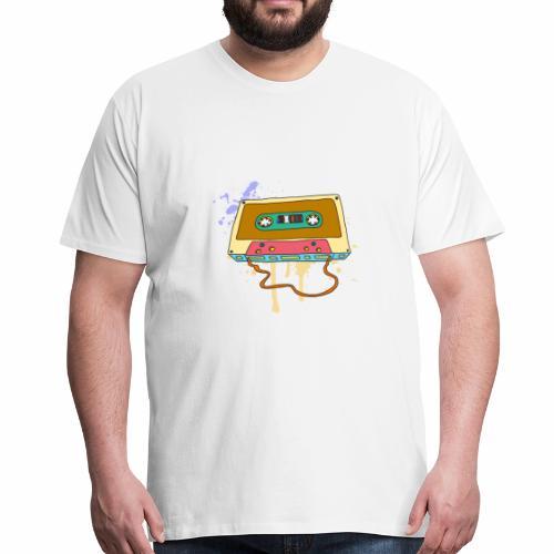 Musik Kassette Walkman Magnettonband Retro Vintage - Männer Premium T-Shirt