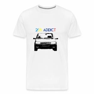 205 ADDICT - T-shirt Premium Homme