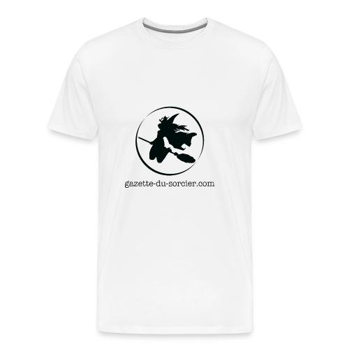 T-shirt logo Gazette - T-shirt Premium Homme