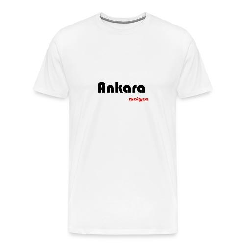 Ankara Türkiyem Heimat - Männer Premium T-Shirt