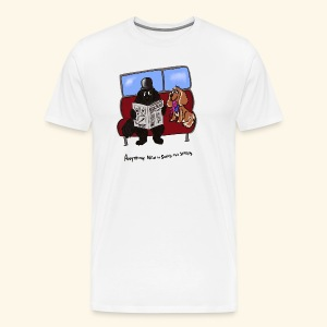 Socks and shares - Men's Premium T-Shirt
