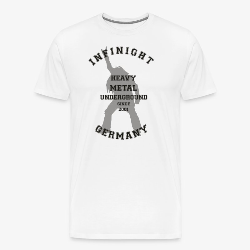 Infinight College headbanger dark - Männer Premium T-Shirt