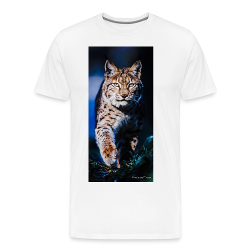 white Lux - CocaineTrees - Männer Premium T-Shirt