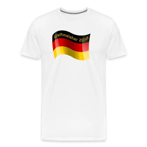 Fußball Weltmeisterschaft 2018 - Männer Premium T-Shirt