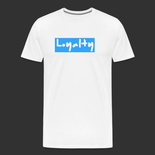 Loyalty - Logo - Männer Premium T-Shirt