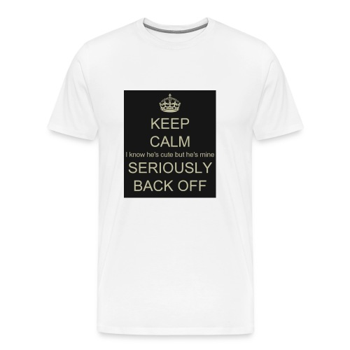 He is mine tanktop - Herre premium T-shirt