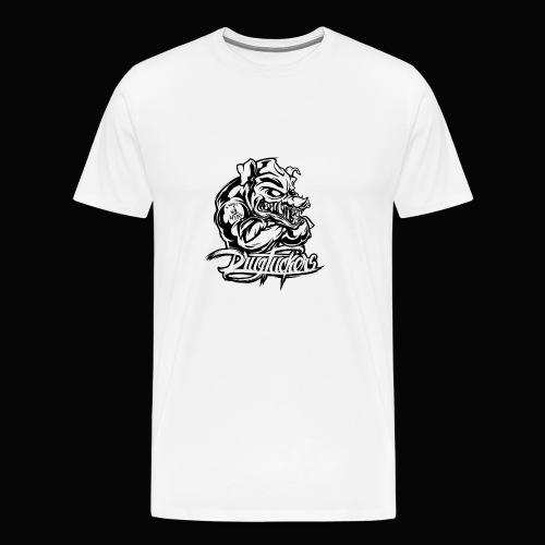 Drug_Fuckers_Logo _-_ Composition_01-_black - Men's Premium T-Shirt