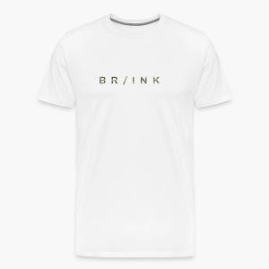 BR/INK Camo Logo - Men's Premium T-Shirt