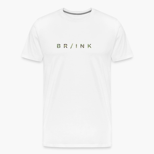 BR/INK Camo Logo - Men's Premium T-Shirt