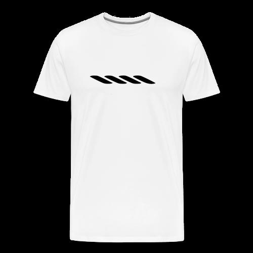 Rope With Bite Logo - Men's Premium T-Shirt