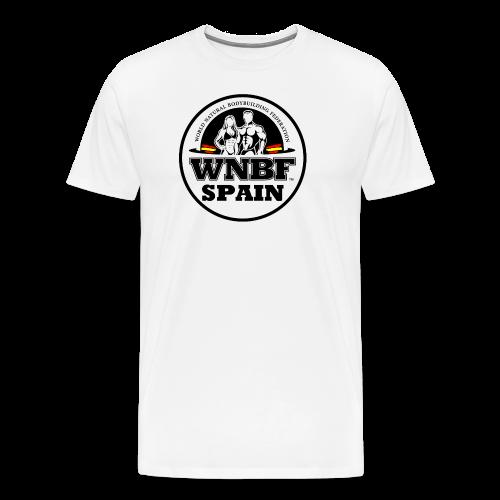 LOGO WNBF SPAIN - Camiseta premium hombre