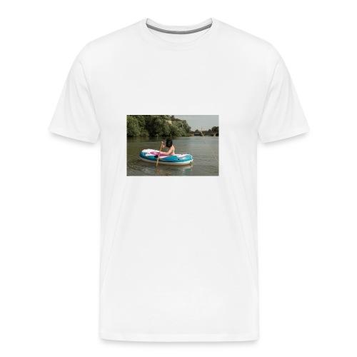 Wir stammen vom Affen ab - Männer Premium T-Shirt
