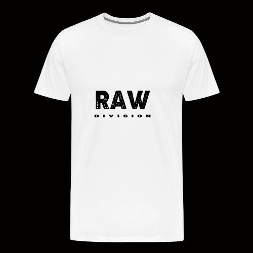 Raw DIvision BLACK LOGO - Men's Premium T-Shirt