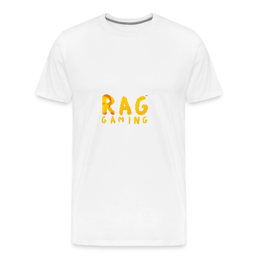 RaG Gaming™ big logo - Premium T-skjorte for menn