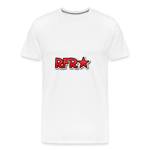 rfr logo - Miesten premium t-paita