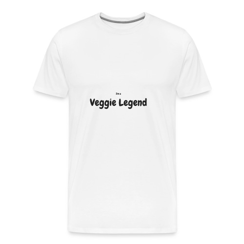 I'm a Veggie Legend - Men's Premium T-Shirt