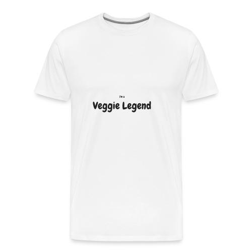 I'm a Veggie Legend - Men's Premium T-Shirt
