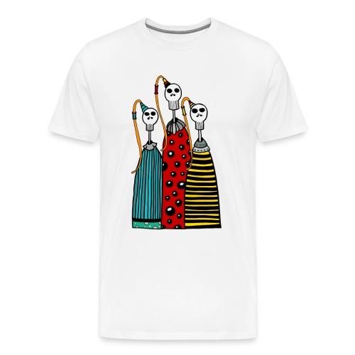 Skully 02 - T-shirt Premium Homme